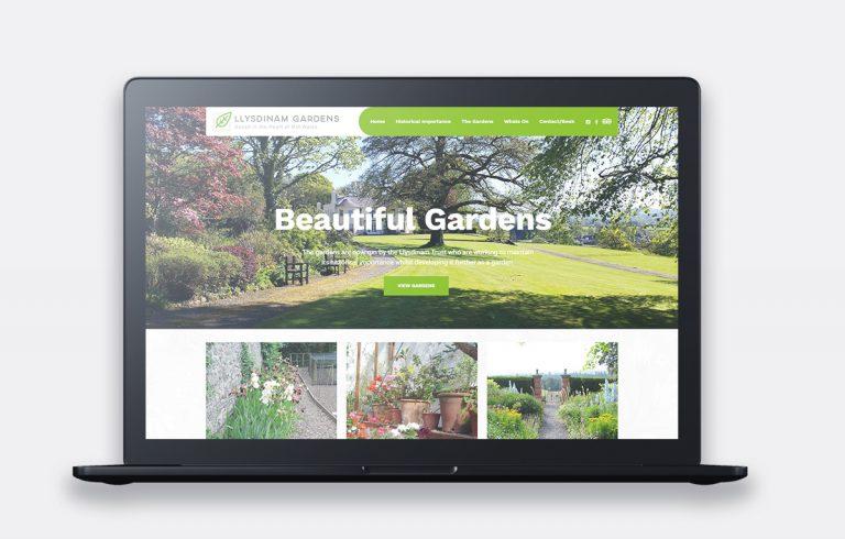 LLysdinam Gardens